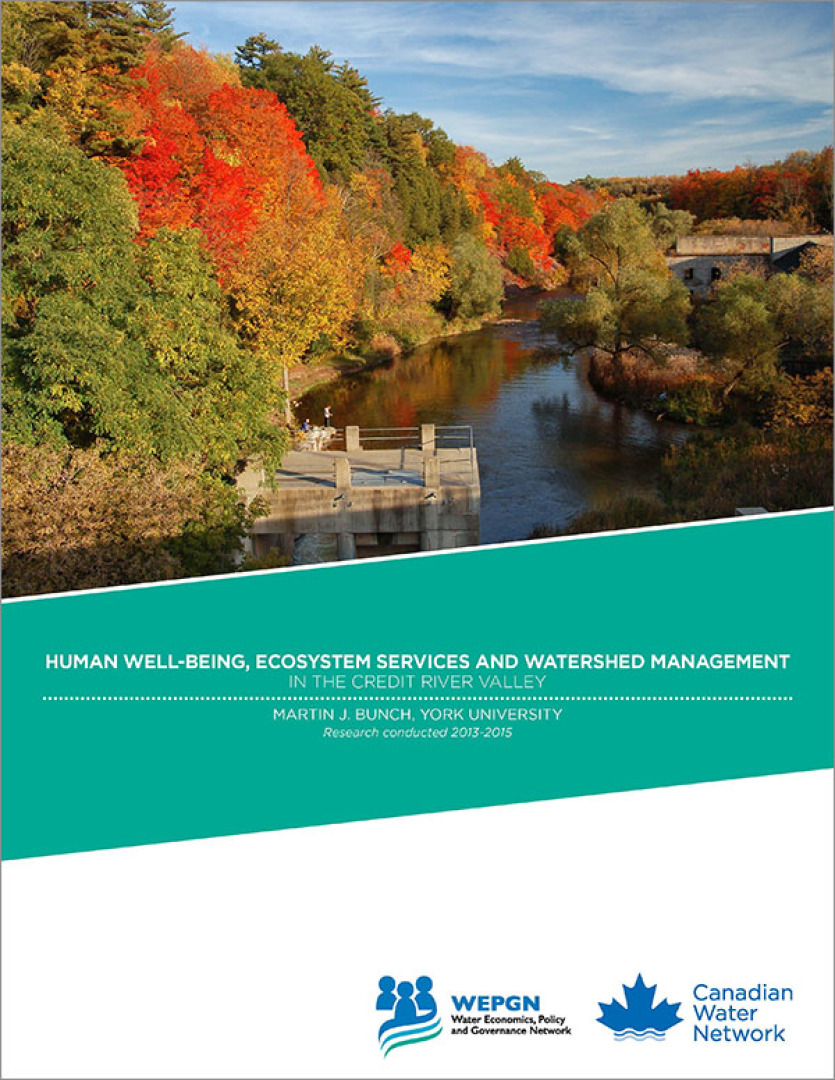 Human Well-being, Ecosystem Services and Watershed Management in the ...
